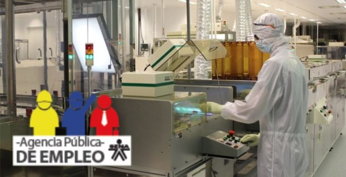 Oferta de Empleo como Auxiliar de Produccion
