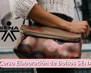 Curso en Elaboracion de Bolsos SENA ¡Inscríbete ya!
