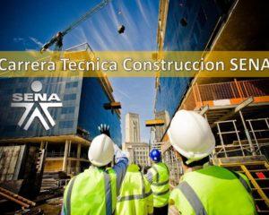 Carrera Tecnica Construccion SENA