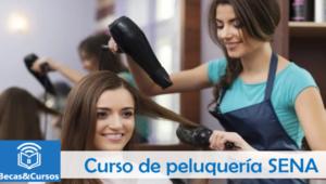 Curso de peluquería SENA