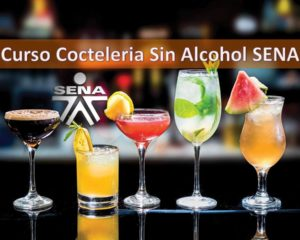 Curso Cocteleria Sin Alcohol SENA