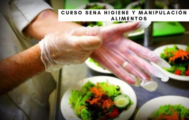Curso SENA Higiene y Manipulación de Alimentos