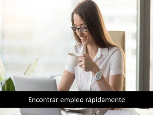 Encontrar empleo rápidamente